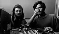 Steve Wozniack and Steve Jobs